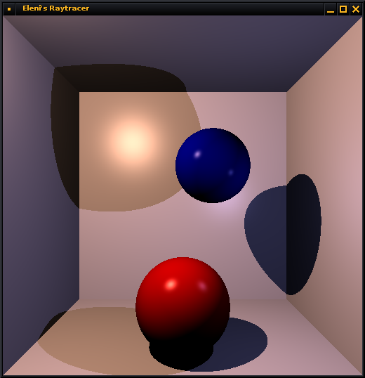 ray tracer with shadows