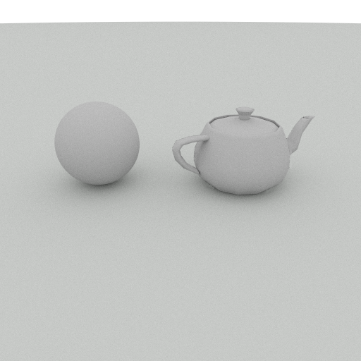skylight sphere and teapot