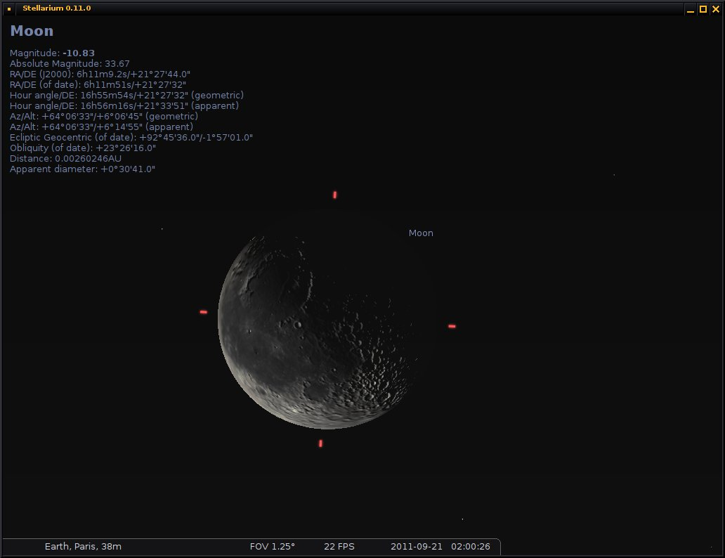 Moon using the new planet rendering algorithm.