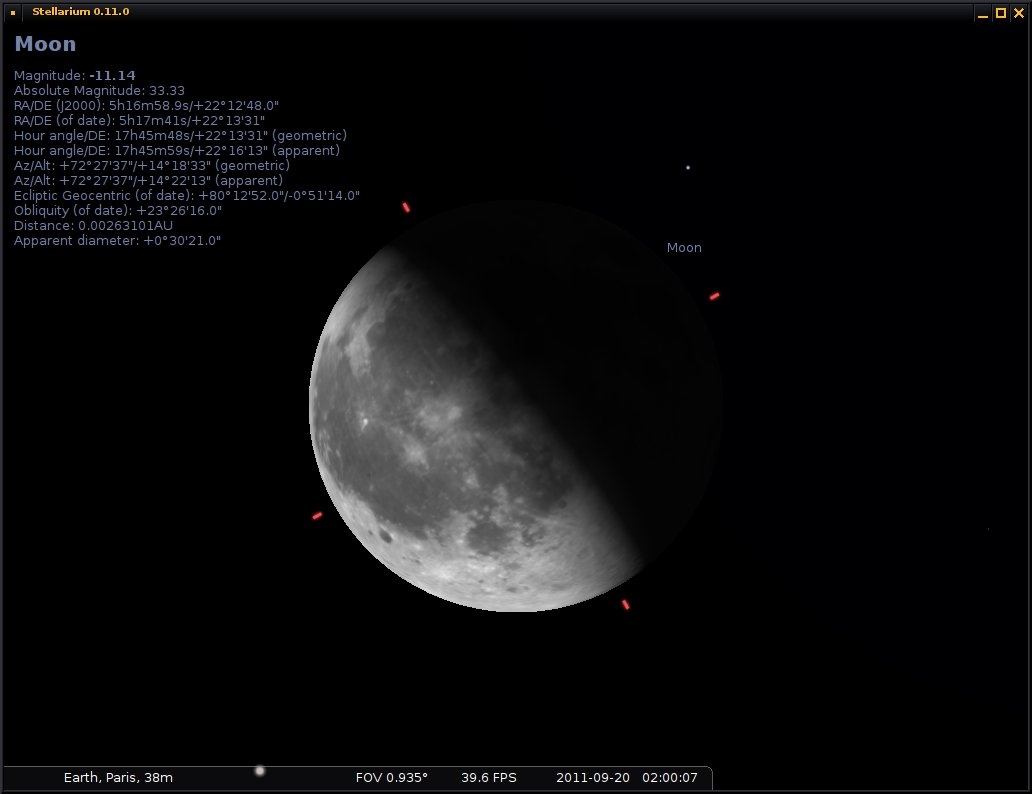 Moon using the past planet rendering algorithm