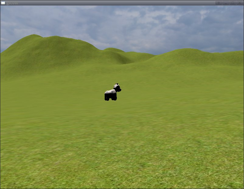 terrain before optimisations